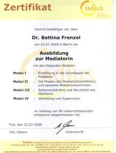 zertifikat-mediation